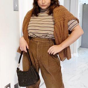 Vintage Brown Corduroy Trousers